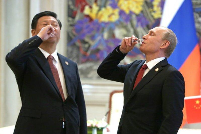 Resultado de imagen para Presidentes Xi Jinping y Vladimir Putin